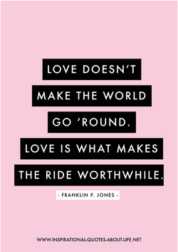 love make word go round.