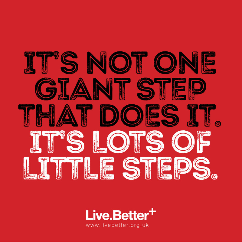 It's not one giant step that does it - it's lots of little steps. Motivational quotes on health, fitness & exercise to inspire you to get healthy and fit! #quotes #health #fitness #exercise