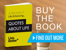 Inspirational Quotes About Life Book