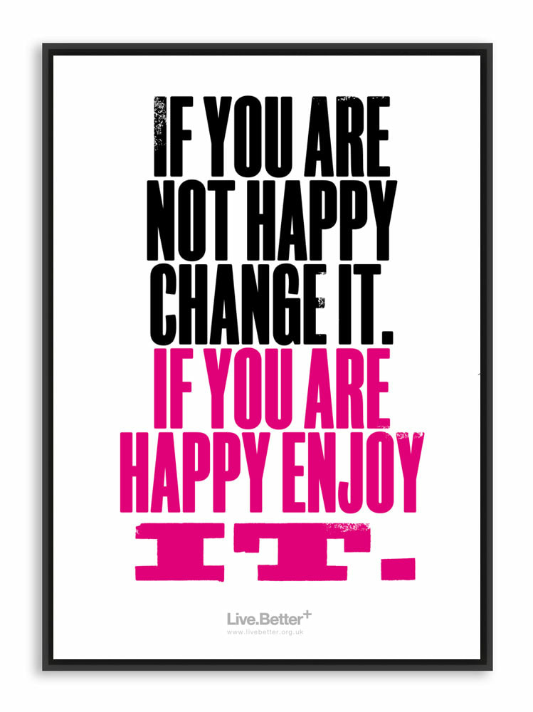 Inspirational quote about happiness - motivational - happy, inspire