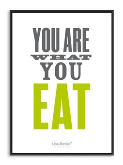 You are what you eat! Motivational quotes on health, fitness & exercise to inspire you to get healthy and fit! #quotes #health #fitness #exercise